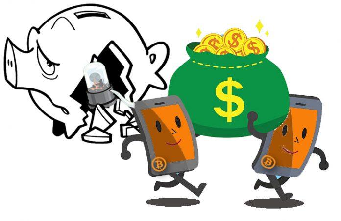 bitcoin money leaving stocks