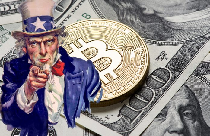 US Bitcoin uncle sam